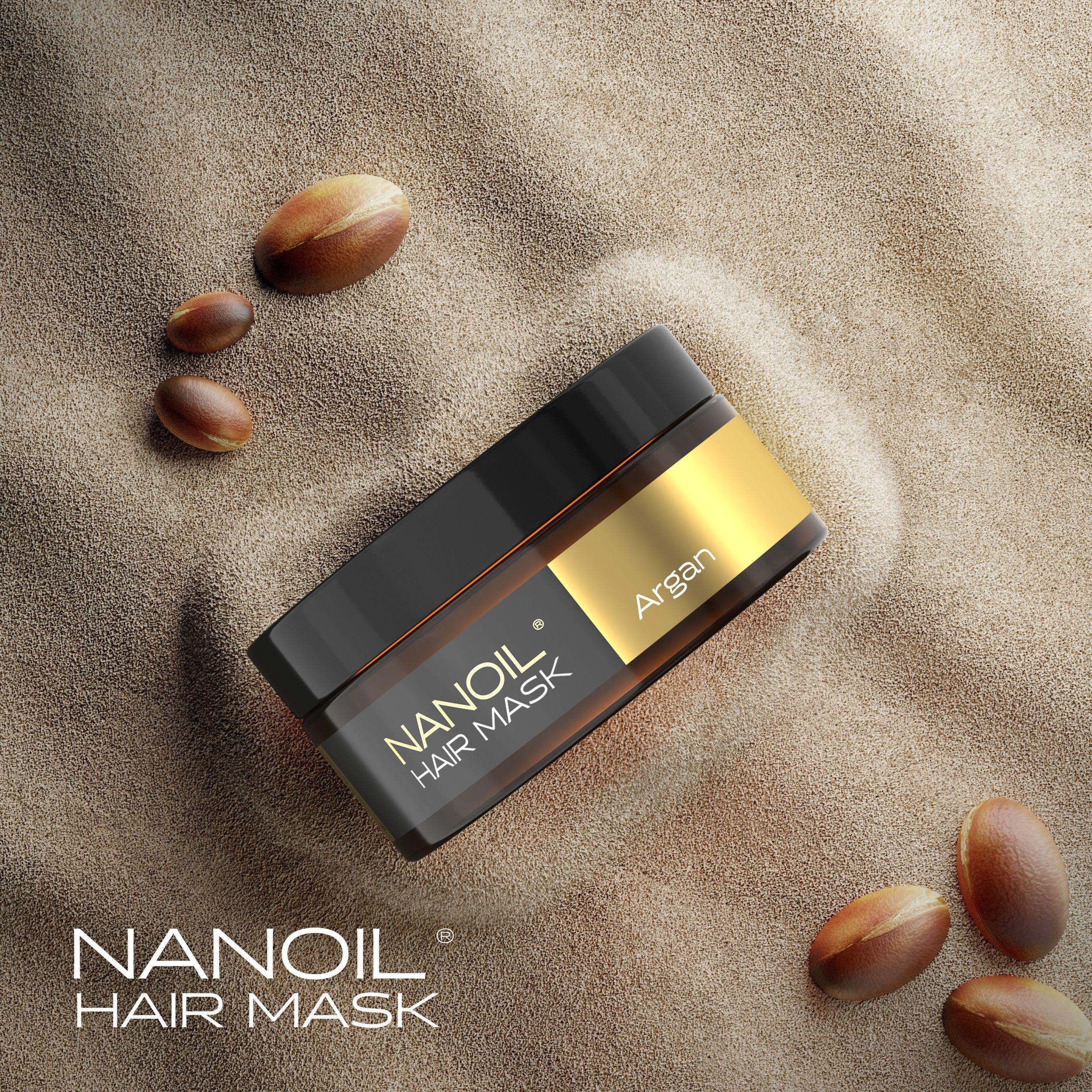 Nanoil - olej arganowy w formie maski